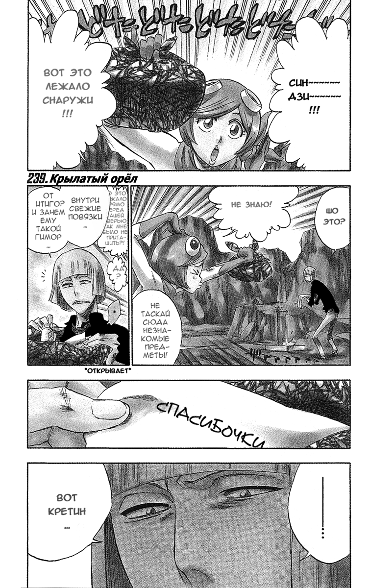 Манга Bleach / Блич Манга Bleach Глава # 239 - Крылатый орел, страница 1